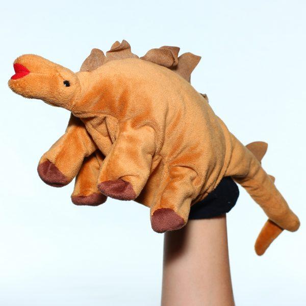 Foto: Handpuppe Dinosaurier