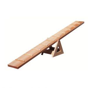 Foto: Laufwippe aus Holz