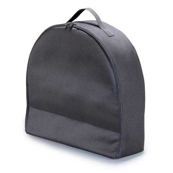 Foto: schwarze Tasche für Leuchttonne