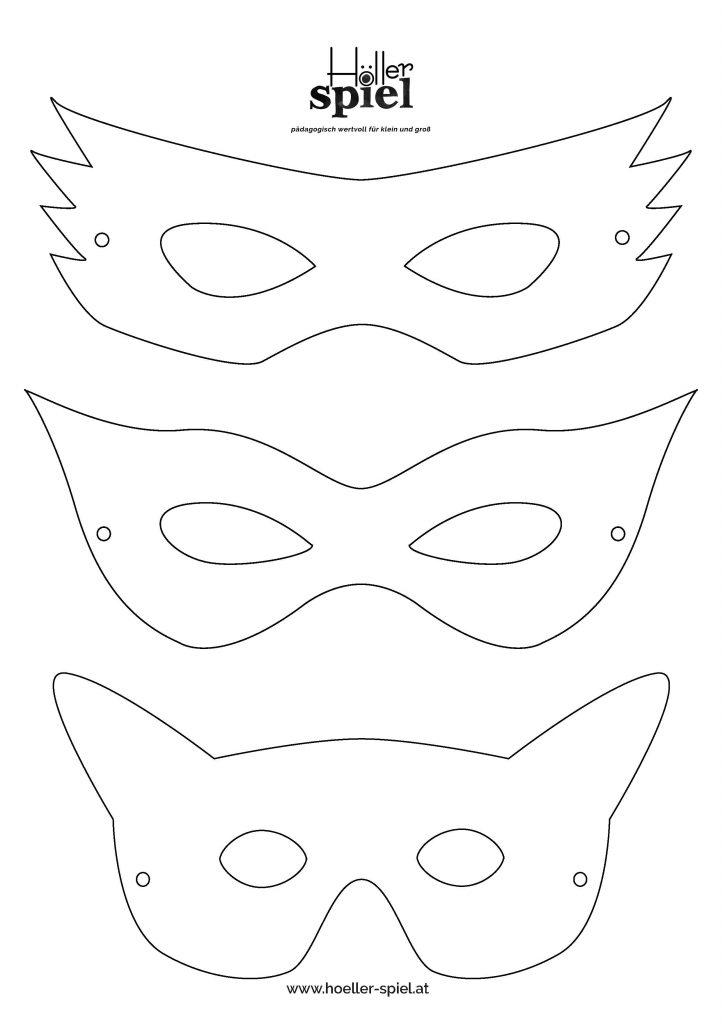 Vorschaubild Faschingsmasken Download
