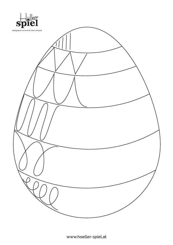 Vorschaubild: Osterei-Schwungübung