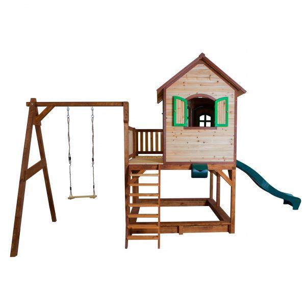 Foto: Kinderspielhaus midi mit Schaukel