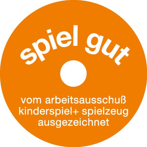Grafik: spiel gut-Siegel