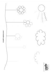 Vorschaubild Blumenwiese-Schwungübung