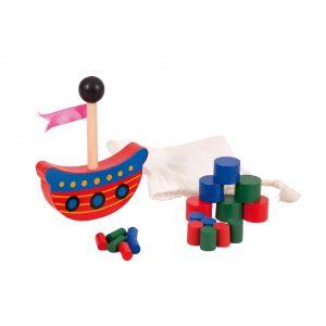 Foto: Geschicklichkeitsspiel Piratenschiff