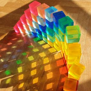 Acrylbauwürfel von Bauspiel