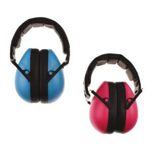 Gehör-Schutz größenverstellbar für Kinder in blau und pink