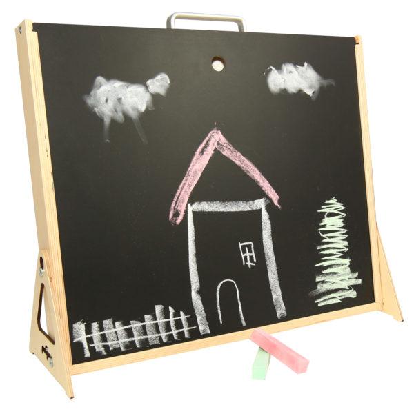Kreidetafel der Kreativtafel für Kinder