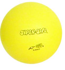 Nahaufnahme des gelben Turnballs für Kindergartenkinder