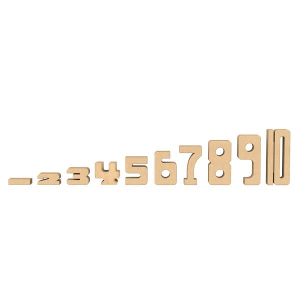 Alle Zahlen der Sumblox Summenbausteine für Kindergarten und Schule
