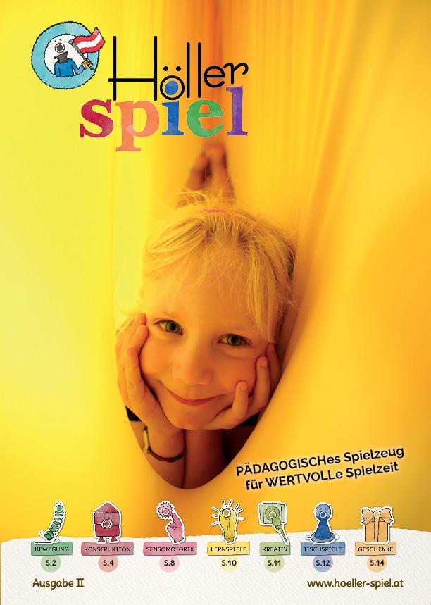 Titelseite der Höller Spiel Kindergarten-Broschüre 2018