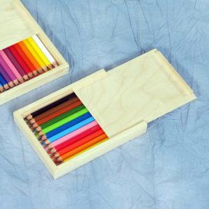 12 Stück Aquabuntstifte Farbfuchs für Kinder zum Malen mit Wasser und Schminken