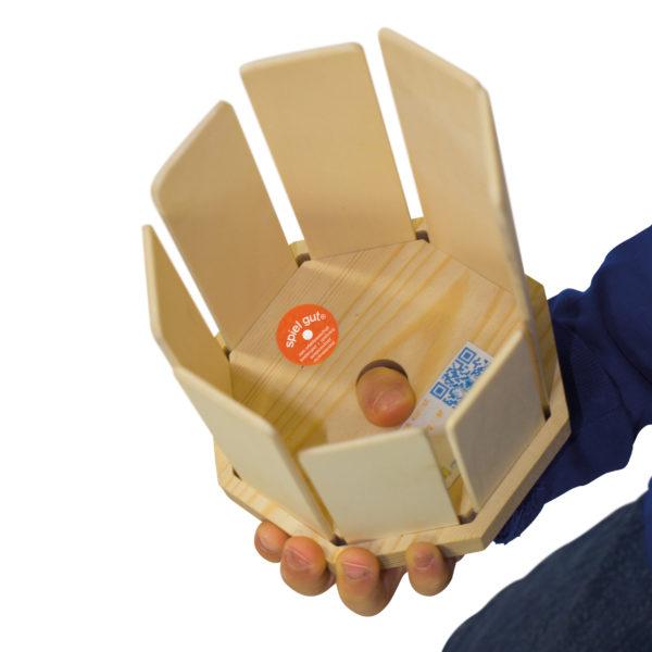 Klangtrommel mit Griffloch speziell für Kinder