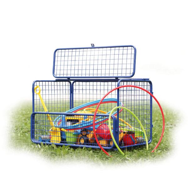 Transportwagen für Spiel- und Turnmaterial für Kindergarten und Schule indoor und outdoor