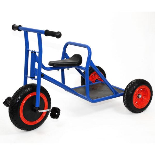Foto: Römerwagen-Dreirad mit Ladefläche für Kindergarten-Kinder