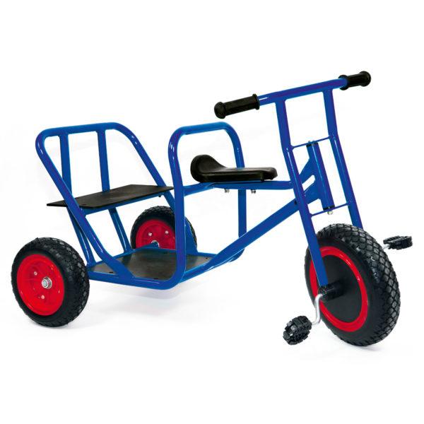Sitzbank-Taxi-Dreirad, einem Gartenfahrzeug für Kindergarten-Kinder