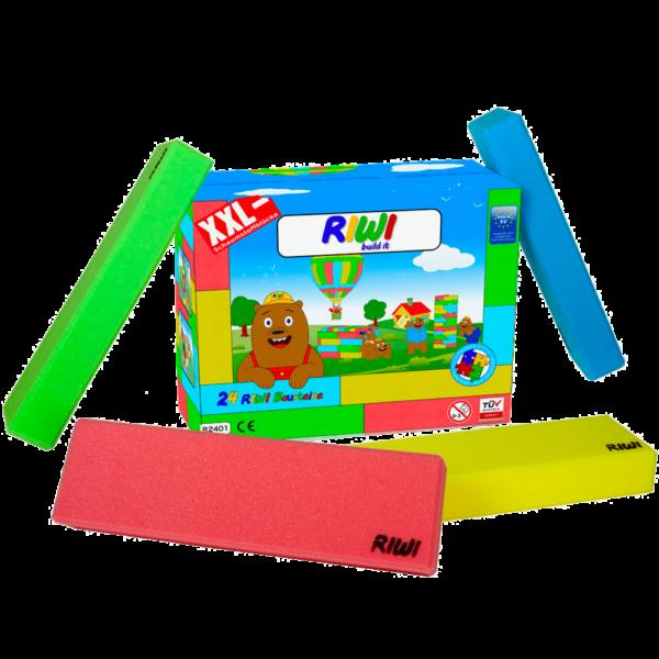 RIWI Riesen-Softbausteine mit Verpackung