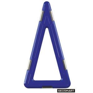 Geosmart großes Dreieck: magnetisches Konstruktionsspiel kompatibel mit Magformers