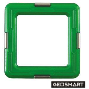 Geosmart Quadrat: magnetisches Konstruktionsspiel kompatibel mit Magformers