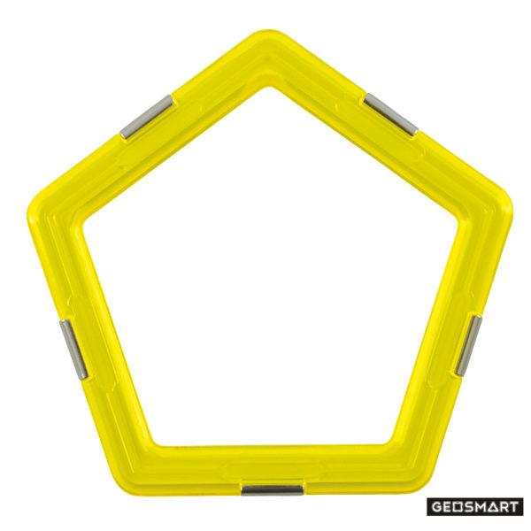 Geosmart Fünfeck: magnetisches Konstruktionsspiel kompatibel mit Magformers