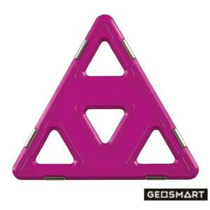 Geosmart Mega-Dreieck: magnetisches Konstruktionsspiel kompatibel mit Magformers