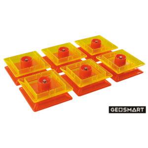 Geosmart Spinner Set: magnetisches Konstruktionsspiel