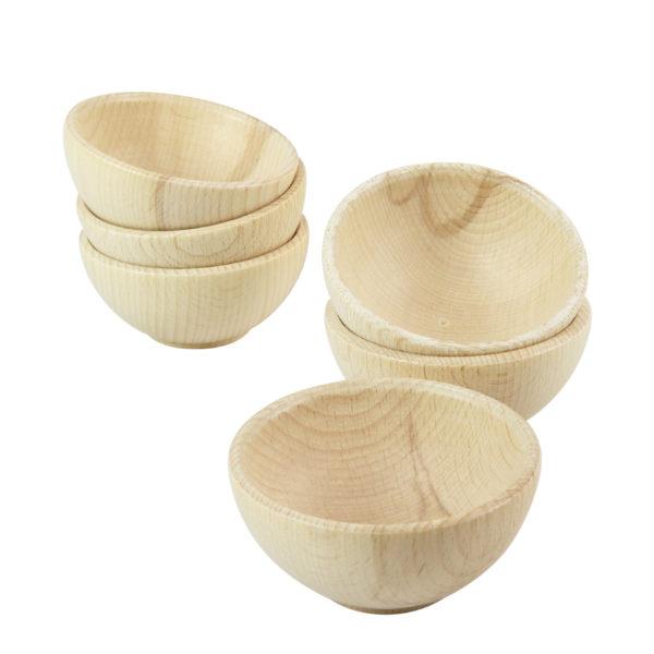 Holzschälchen für Kinder