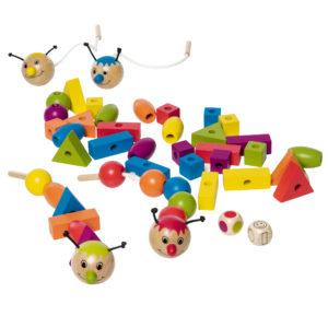 Gesellschaftsspiel zum Lernen von Farben und Formen für kindergartenkinder