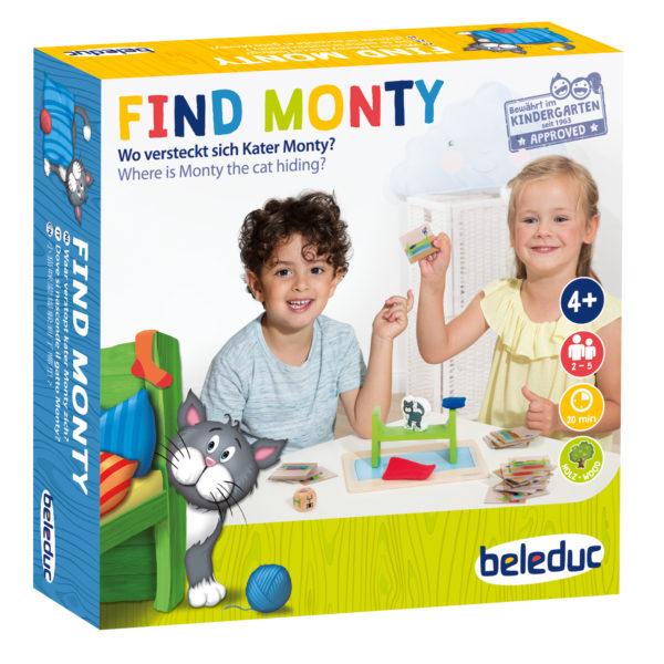 Gesellschaftsspiel für Kindergartenkinder fördert sprachliche Entwicklung und räumliche Wahrnehmung