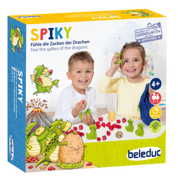 Ein Gesellschaftsspiel für das Kindergartenalter zum Zählen und Fühlen