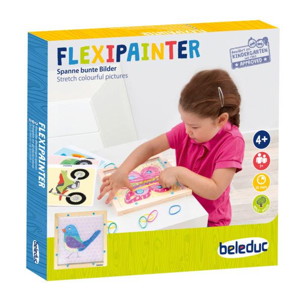 Verpackung des XXL LeVerpackung des Flexipainters für Kindergartenkinder von beleduc