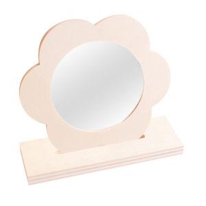 Holzspiegel zum Gestalten, Verzieren und Bemalen für Kinder ab dem Kindergartenalter