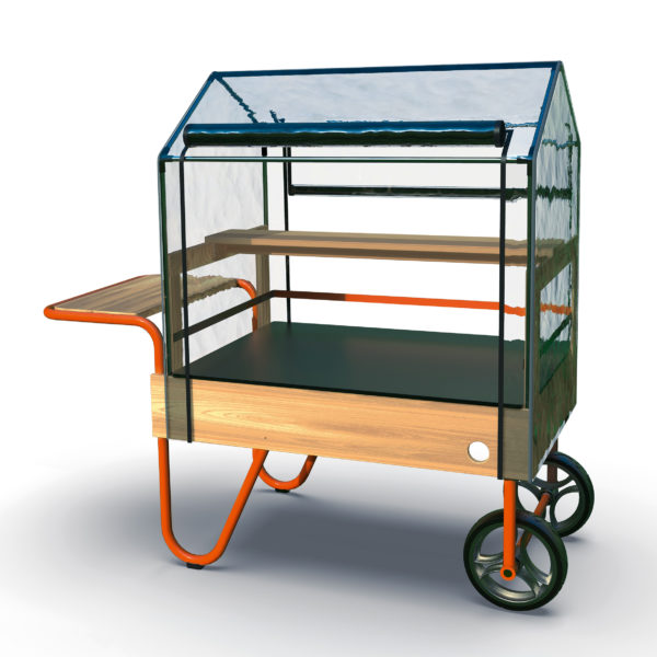 mobiles Gewächshaus von beleduc für Kinder ab dem Kindergartenalter
