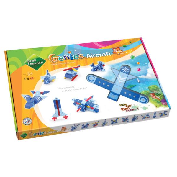 Packung Genii Magnetbausteine-Set für Flugzeuge