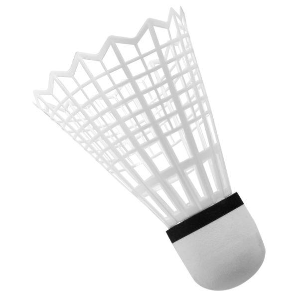 Detailansicht des extra großen Federballs für das Mega Badminton Set