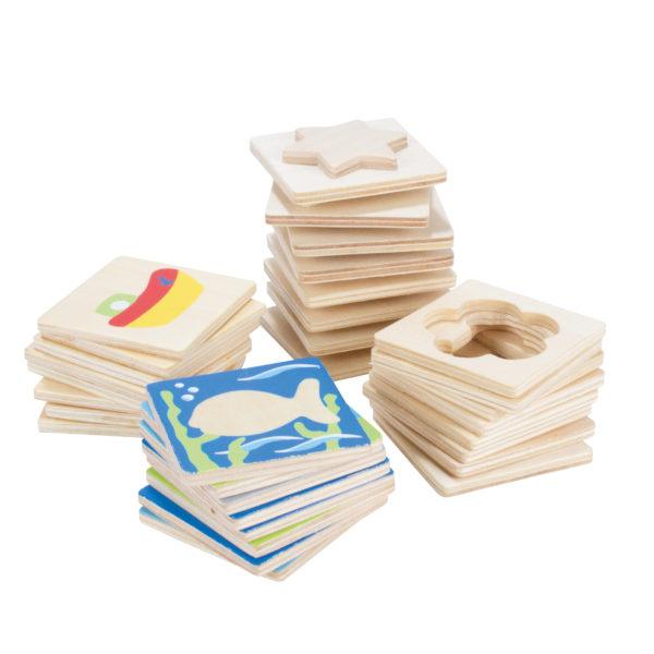Tastaro aus Holz für Kindergarten-und Schulkinder