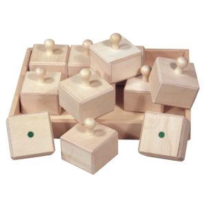 Sensorik Spielzeug aus Holz für Kinder in Kindergarten- und Schulalter
