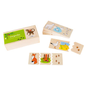 Lernspiel aus Holz für Kinder