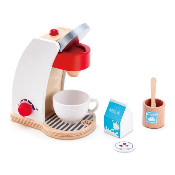 Kaffeemaschine aus von Hape Holz für Kinder in Kindergarten- und Schulalter