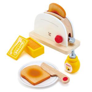 Pop-up Toaster von Hape aus Holz für Kleinkinder und Kindergartenkinder