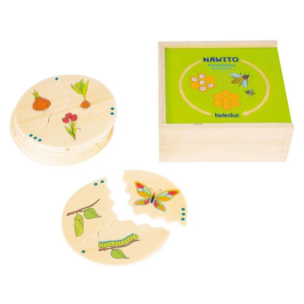 Nawito Entwicklung_Lernspiel aus Holz für Kinder in Kindergarten- und Schulalter