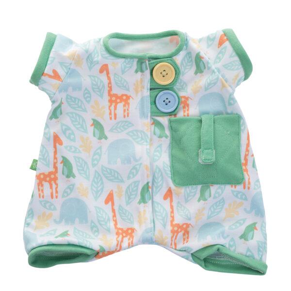 Pyjama grün für Rubens Baby