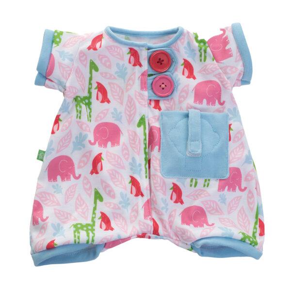 Pyjama rosa für Rubens Baby