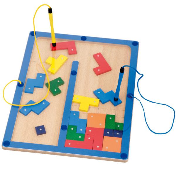 Magnetspiel für Kinder in Kindergarten- und Schulalter