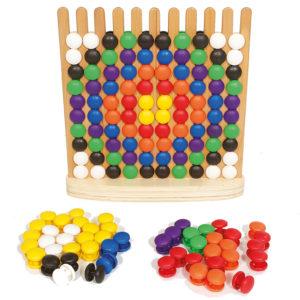 Steckspiel für Kinder in Kindergarten- und Schulalter