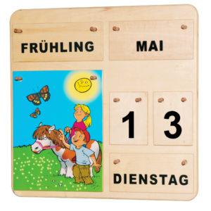 Jahreskalemder aus Holf für Kinder in Kindergarten- und Schulalter