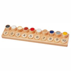Memo aus Holz für Kinder in Kindergarten-und Schulalter