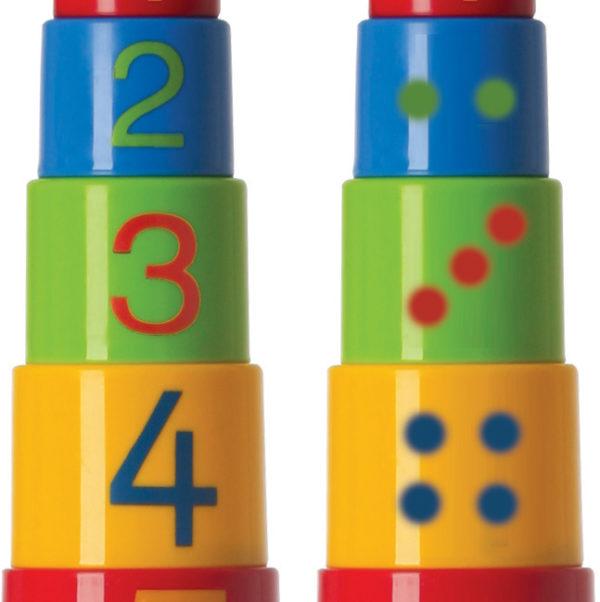 Zahlenturm für Kleinkinder