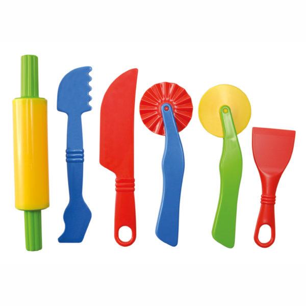 Werkzeug für Knete für Kinder in Kindergarten- und Schulalter