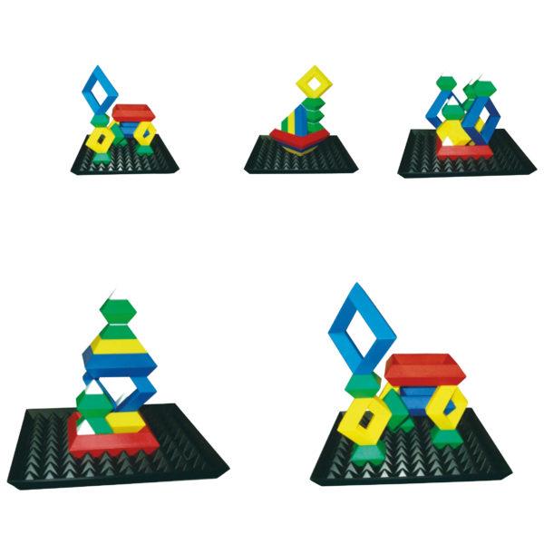 3D puzzle für Kinder in Kidnergarten- und Schulalter